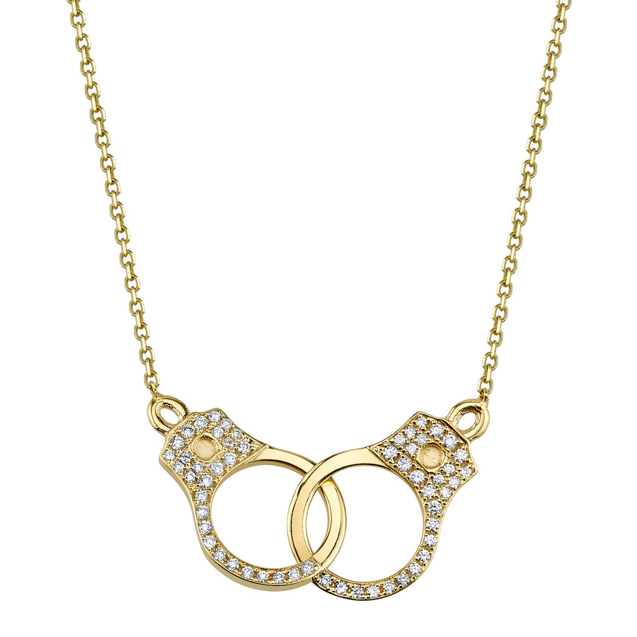 Pave Handcuff Necklace - Jo Latham