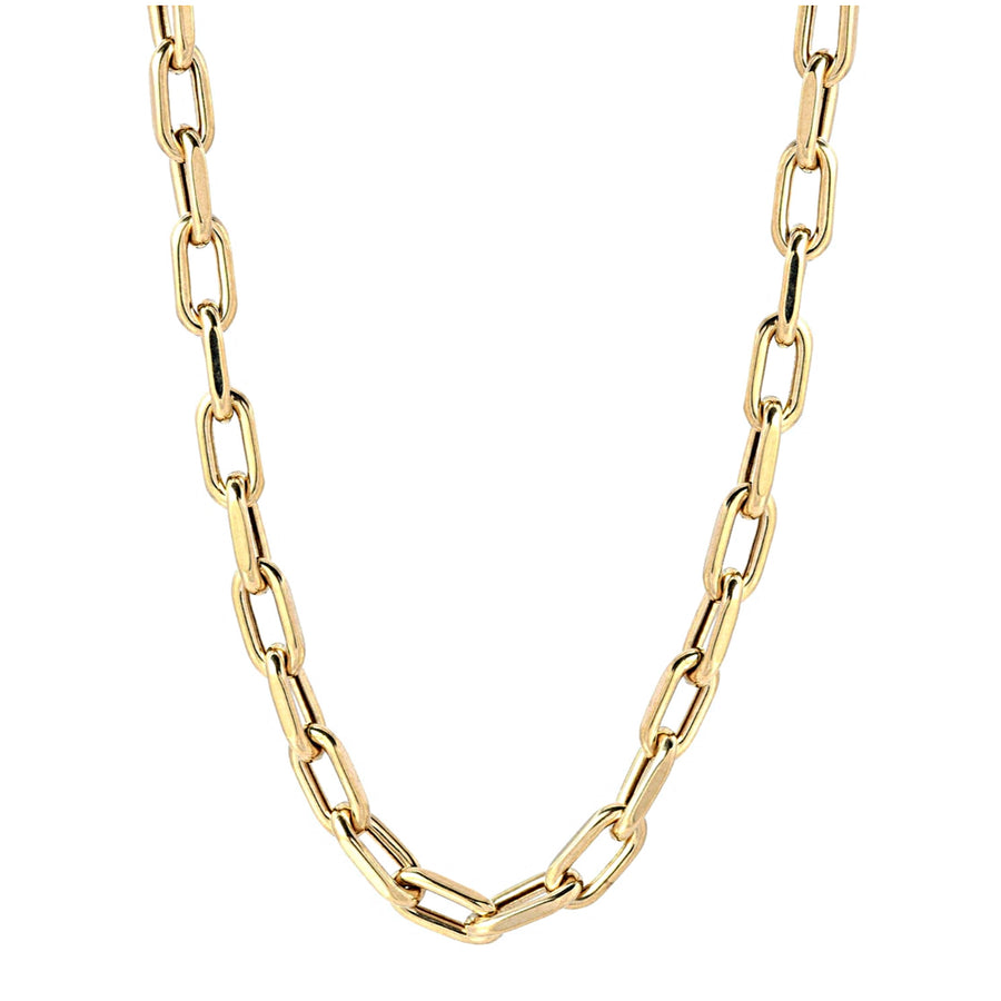 Large Gold Oval Chain