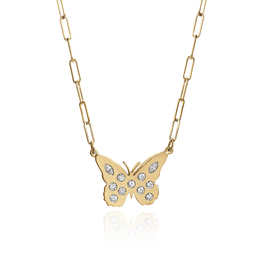 Lindy Mini Butterfly - Diamond