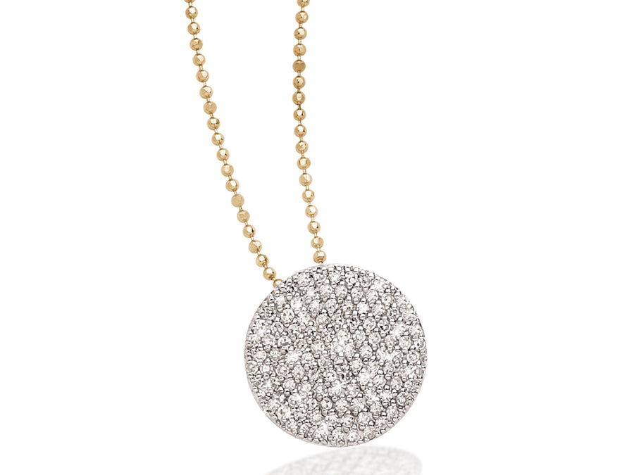 Diamond Pave Infinity Necklace - Jo Latham