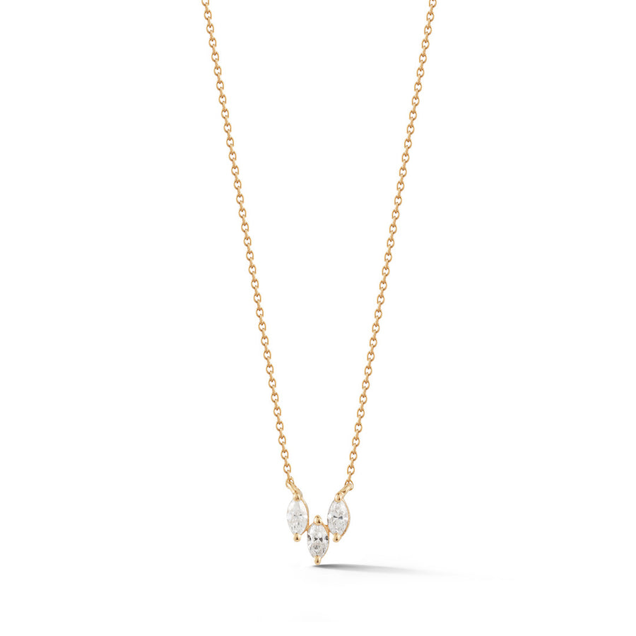 Marquise Trio Necklace - Jo Latham