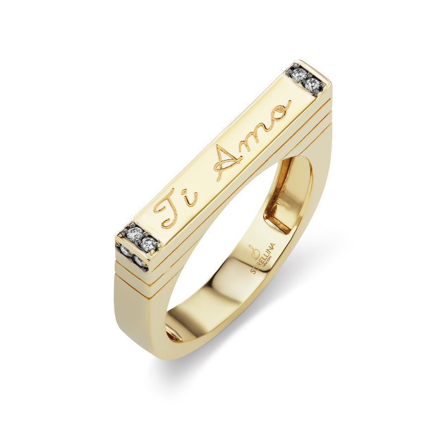 Engraveable Stacking Ring - Jo Latham