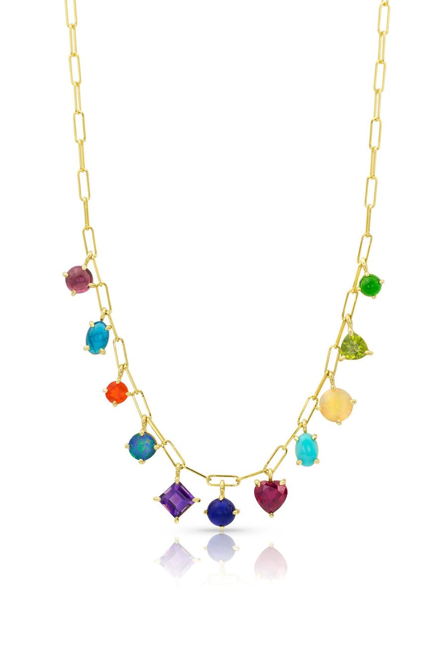 Design Your Own Gemdrop Necklace - 11-Stone - Jo Latham