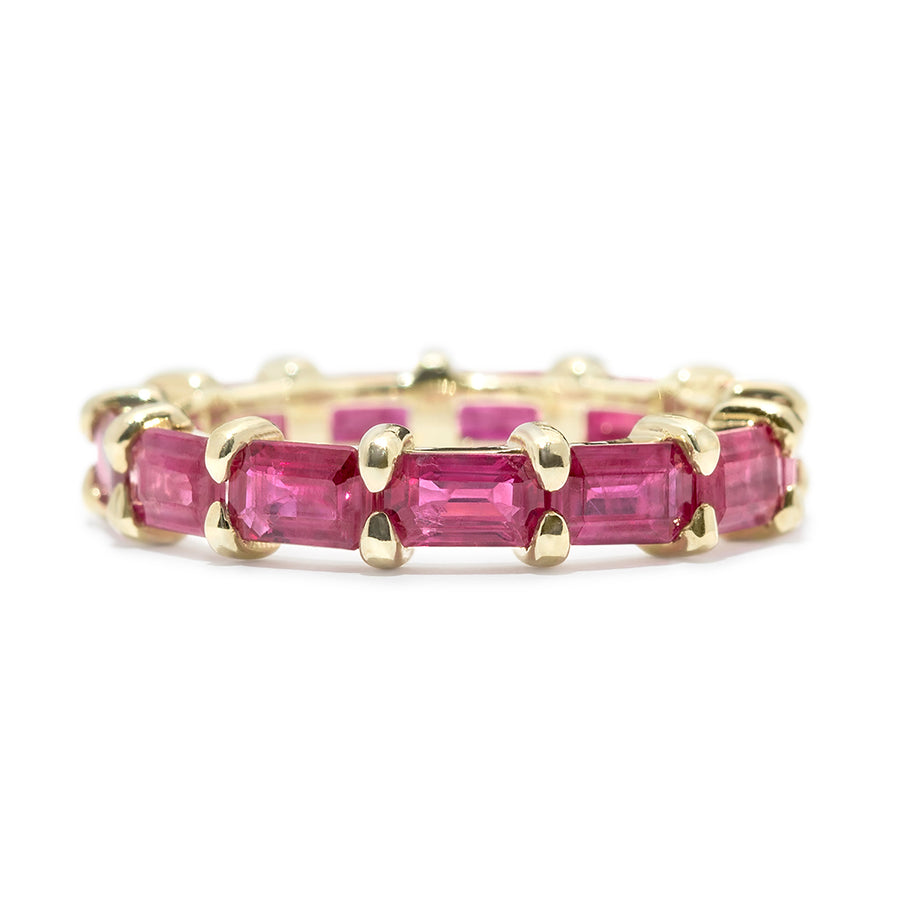 Rivera Ruby Eternity Band - Jo Latham