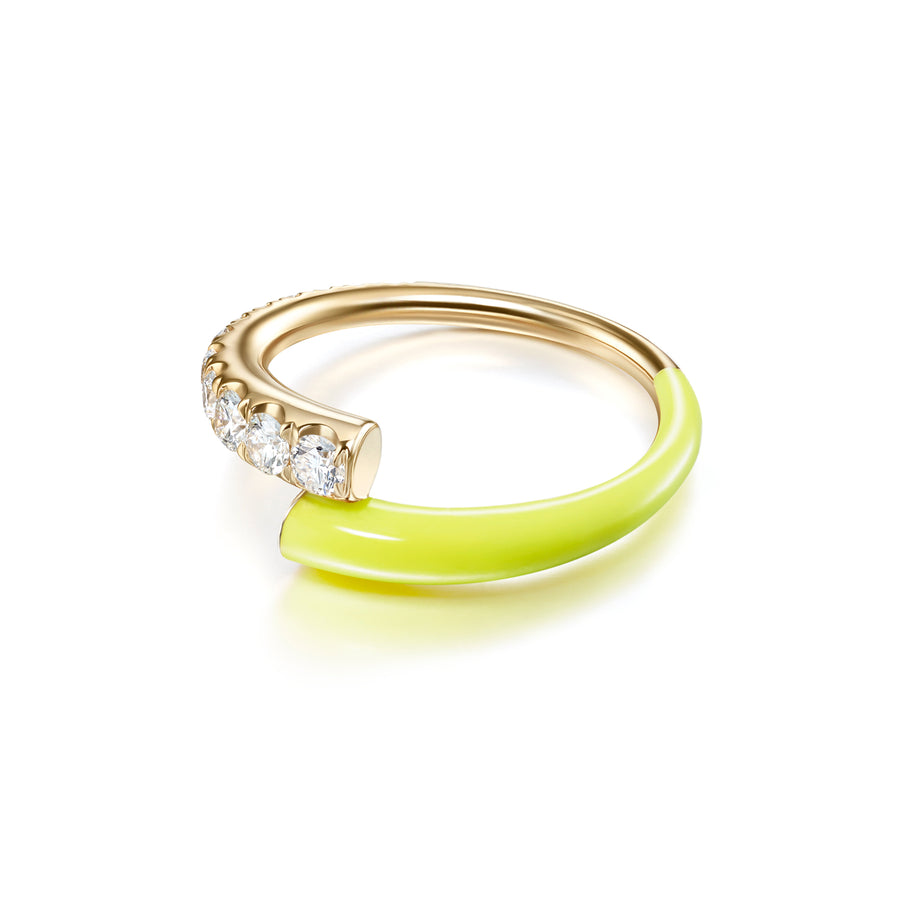 Lola Ring - Neon Yellow - Jo Latham