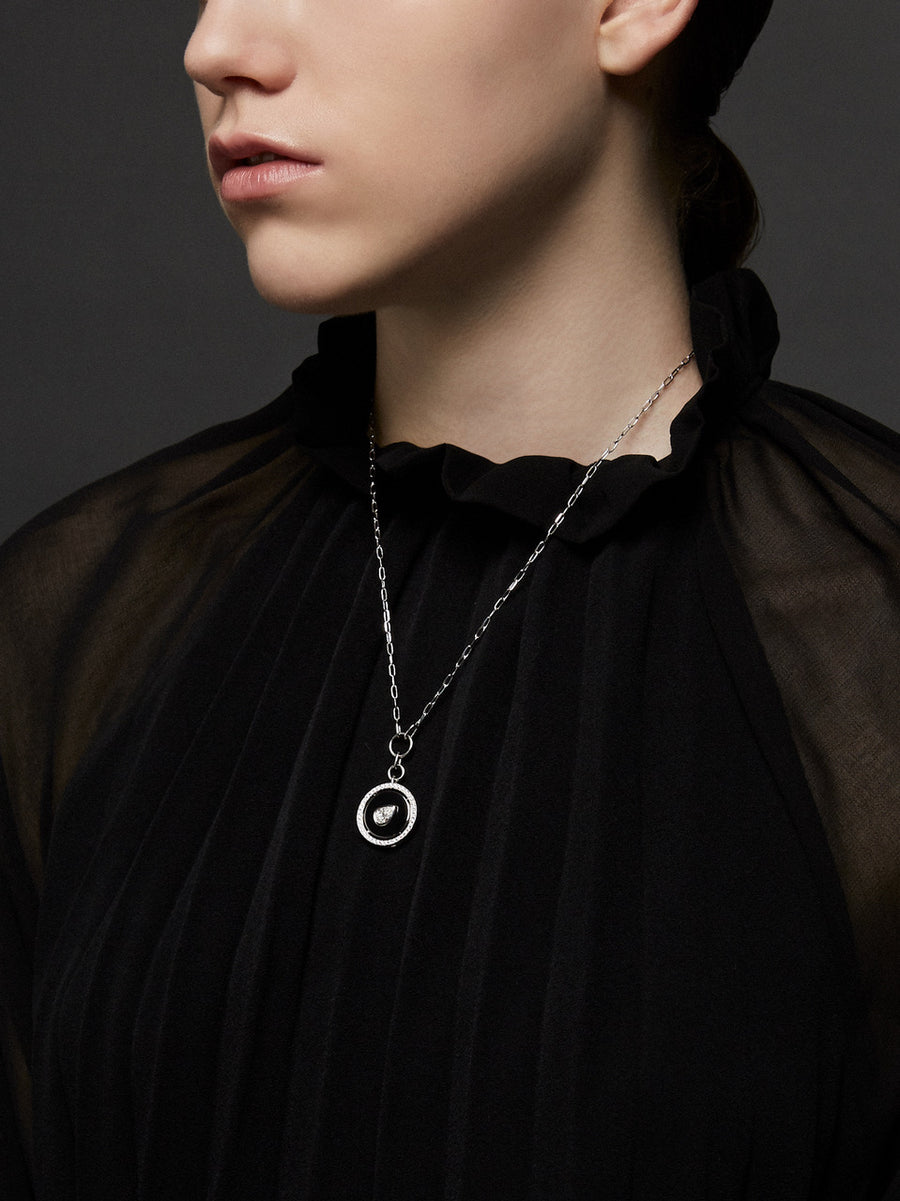 Aebi Pear Shape Necklace - Jo Latham