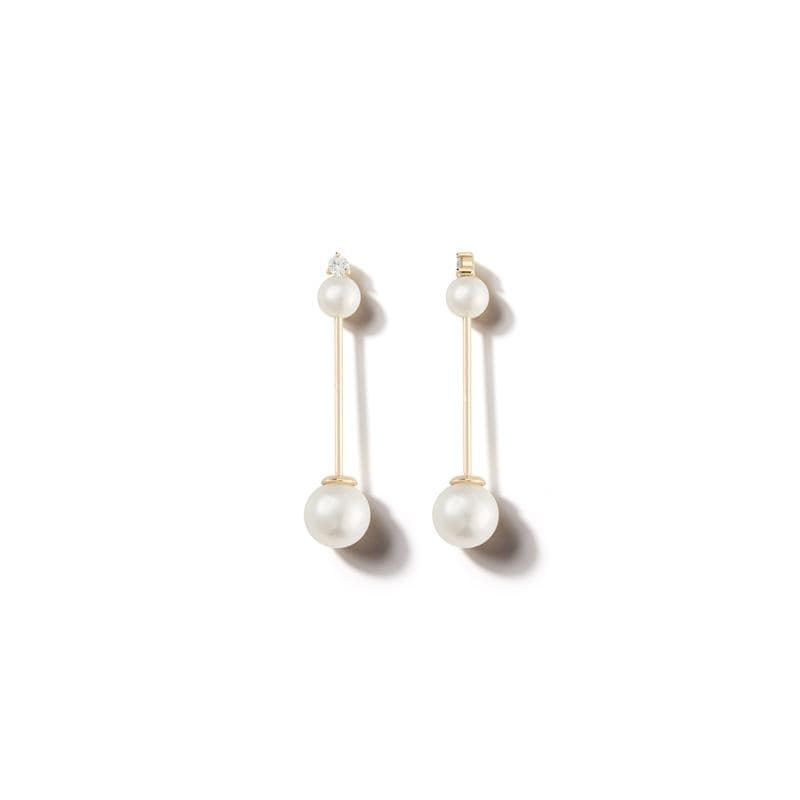 Pearl Stick Earrings - Jo Latham