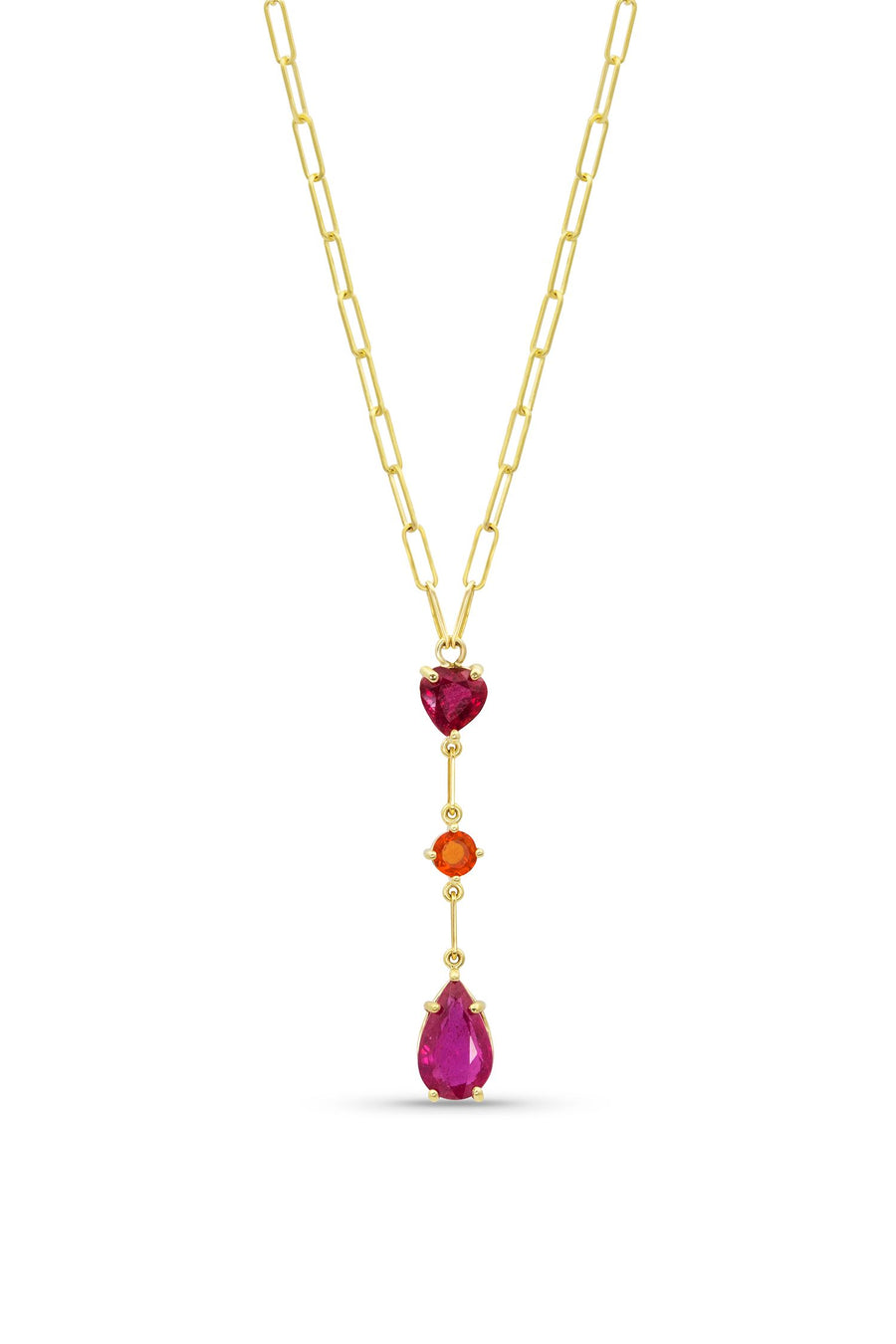 Design Your Own Gemdrop Necklace - Triple Drop - Jo Latham