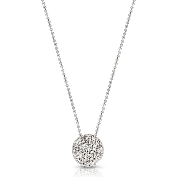 Mini Infinity Diamond Pave Necklace - Jo Latham