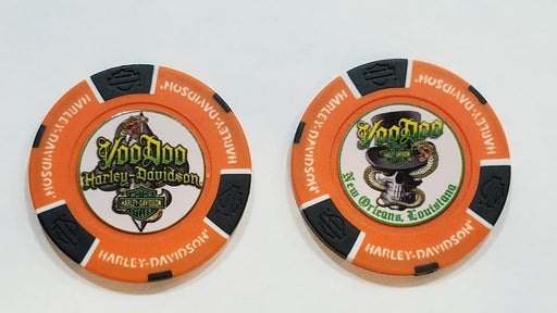 Serpent Poker Chip