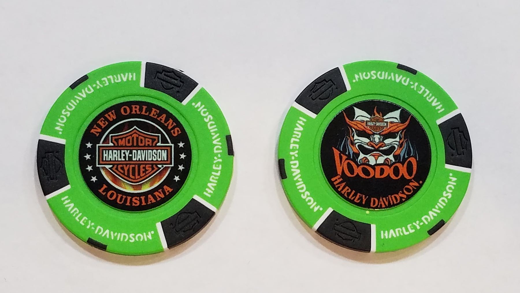 Voodoo Mask Poker Chip