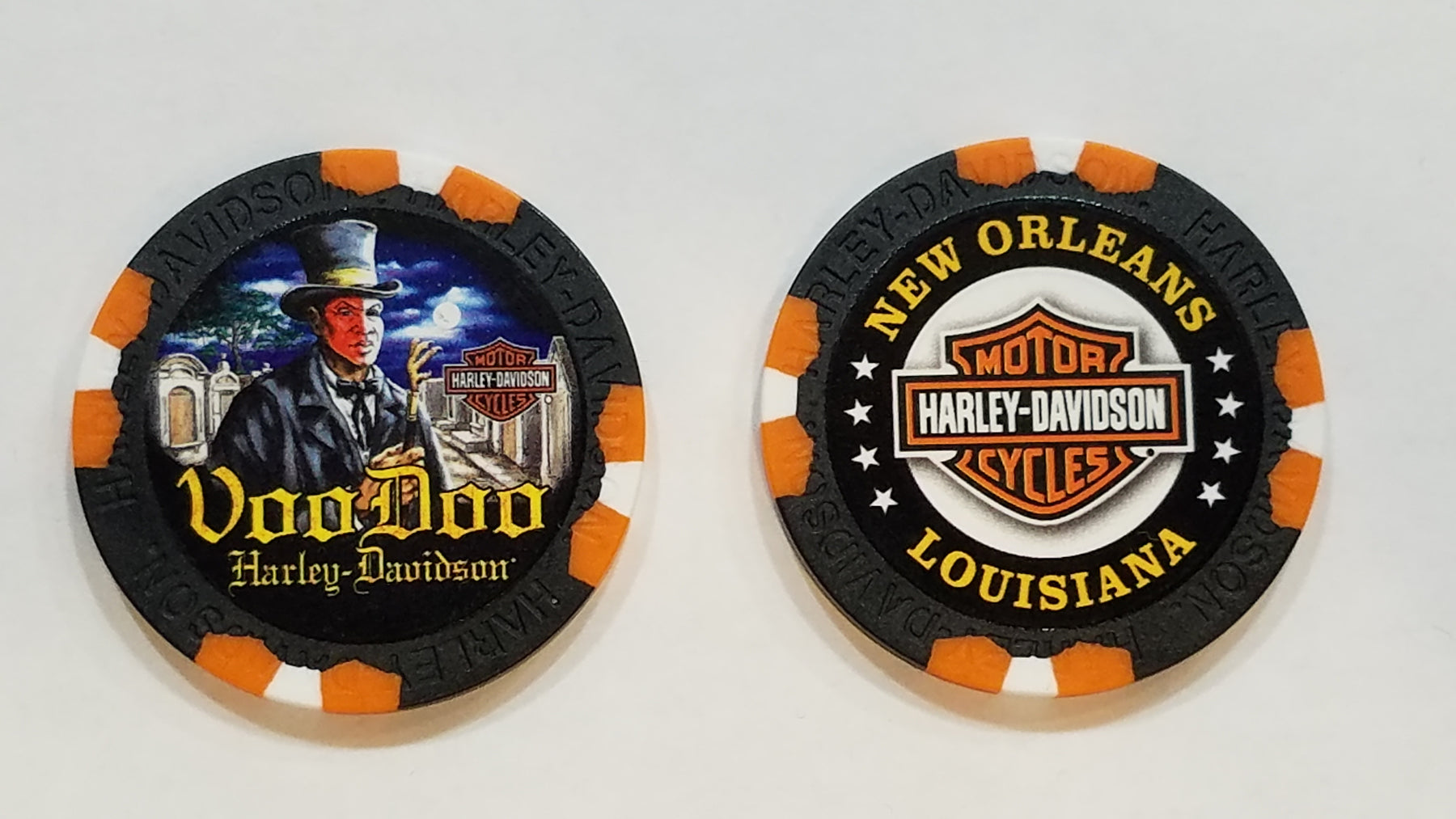 Voodoo Priest Poker Chip