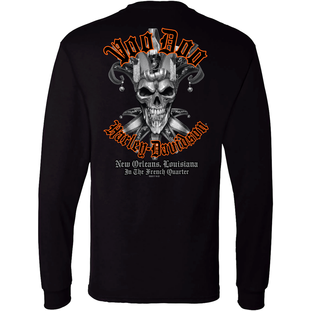 Evil Jester Men's Long Sleeve T-Shirt