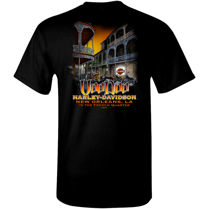 French Quarter Men's Short Sleeve T-Shirt