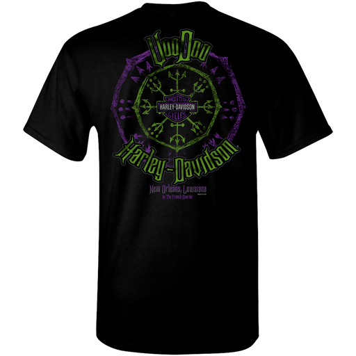 Enchanter Purple & Green Men's Short Sleeve T-Shirt