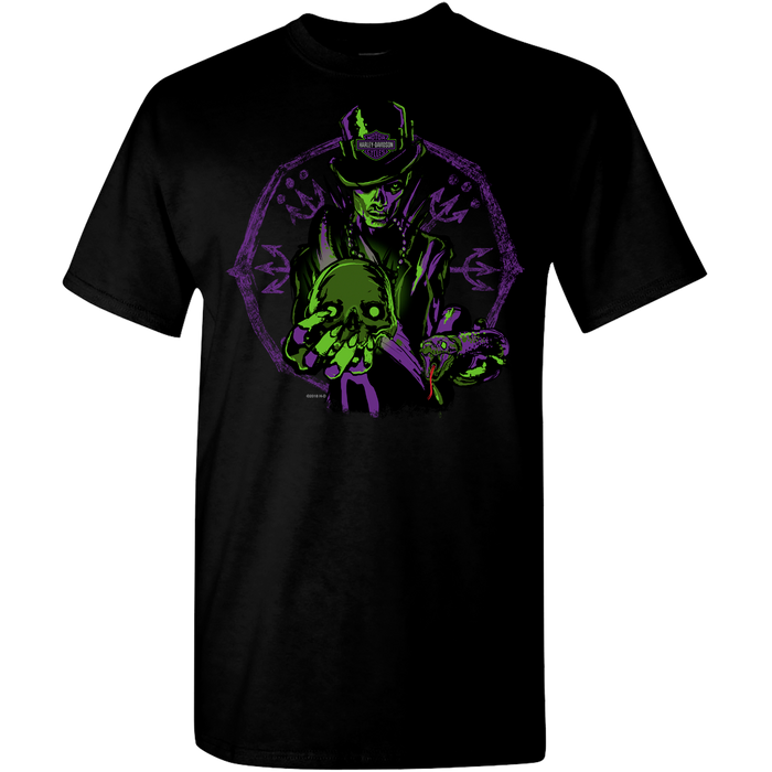 Enchant Purple & Green Men's Short Sleeve T-Shirt