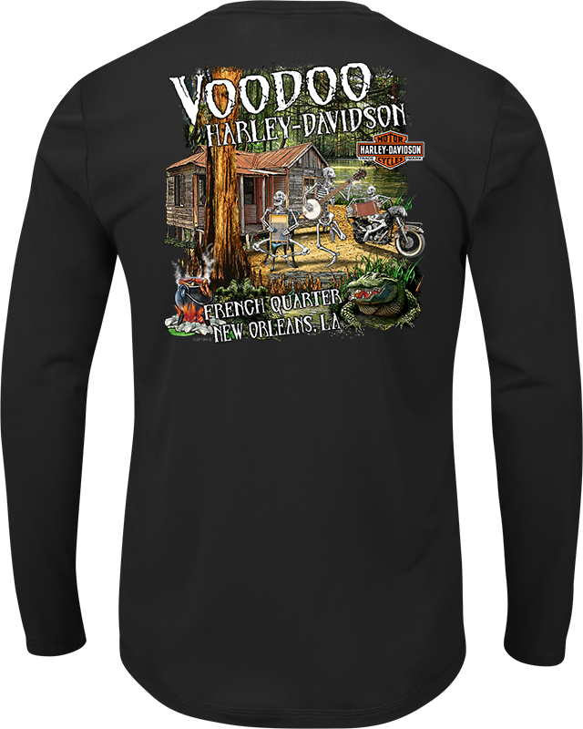 Cajun Band Men's Long Sleeve T-Shirt
