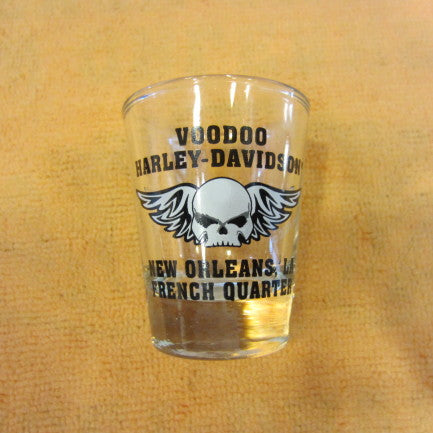 Willie G Skull Shot Glass