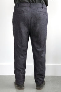 Luxe Stretch Denim Pants - Gray Finn  Big and Tall Mens Luxury Clothing