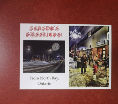 North Bay Christmas Postcard #3
