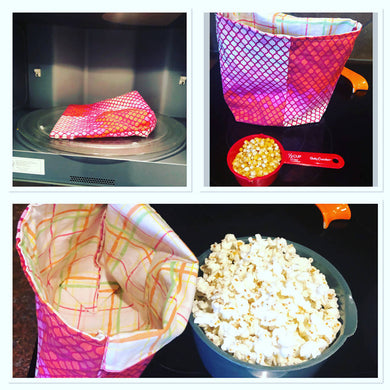 Reusable popcorn bag