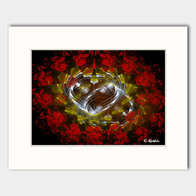 Eternal Love abstract art print