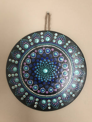 Seascape Mandala Wall Hanging