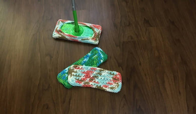 Reusable floor dusters