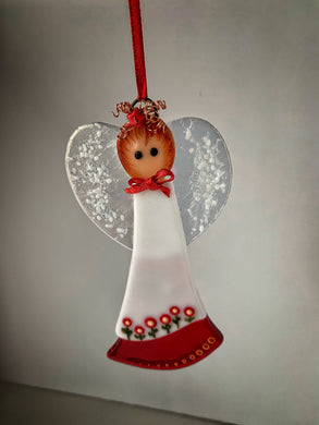 Fused glass Angel (July)