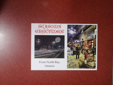 North Bay Christmas Postcard #2
