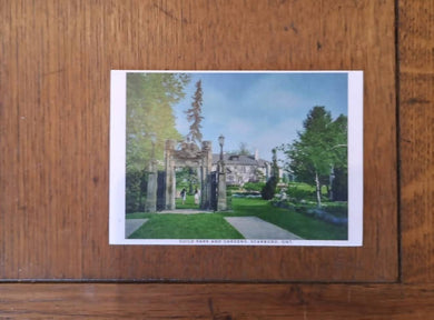 Guild Park and Gardens Postcard (old style, new image)