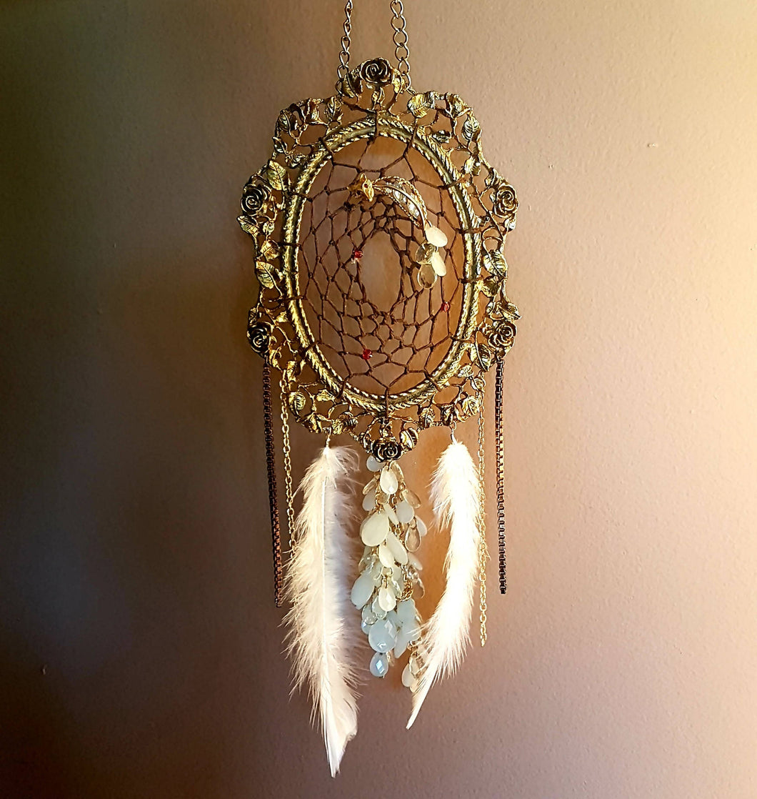 Red-eyed Golden Fox Dreamcatcher