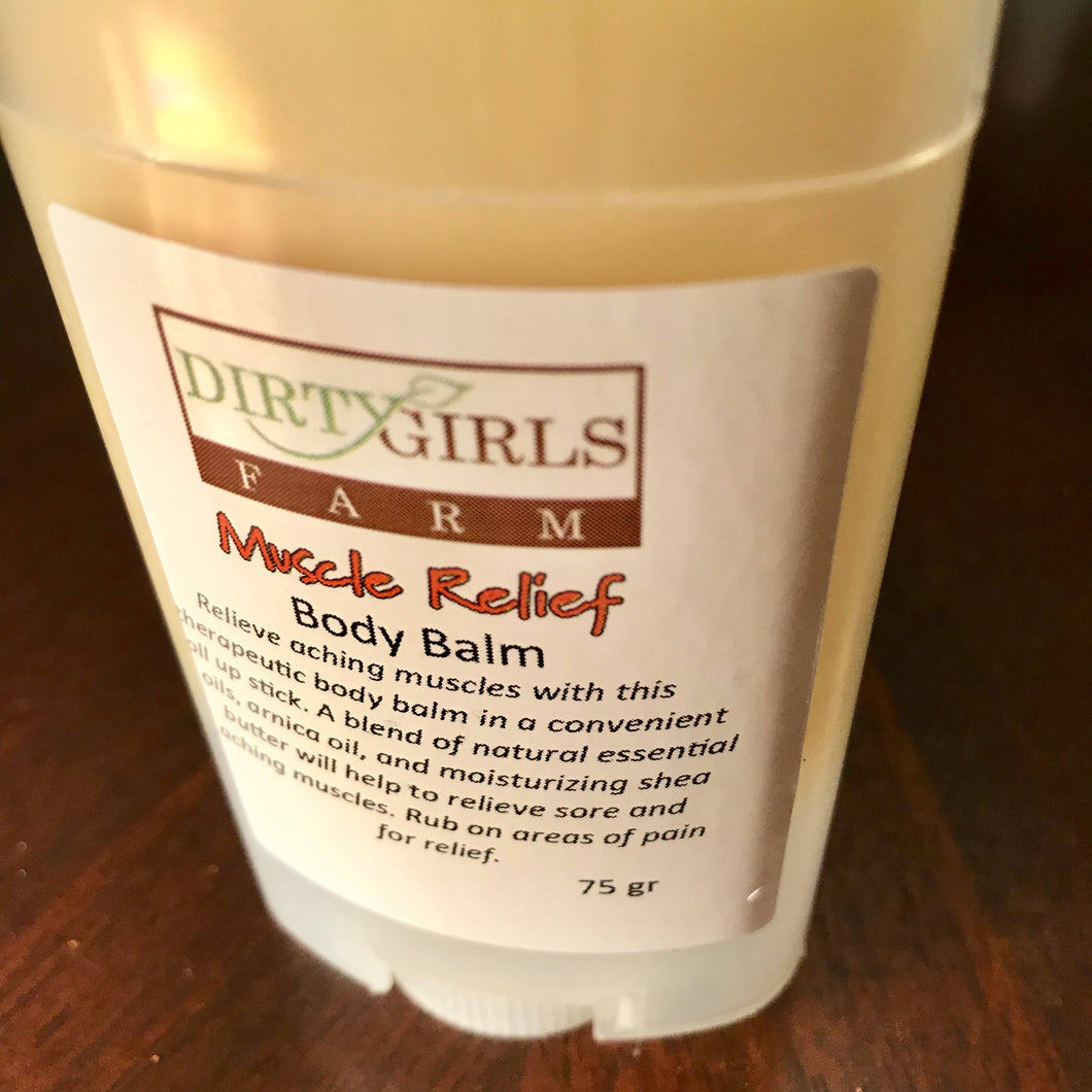 All Natural / Handcrafted / Artisan: MUSCLE RELEIF BODY BALM