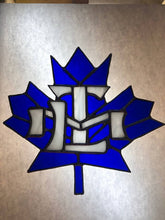 Stained Glass Toronto Maple Leafs