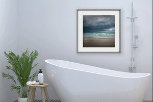 Digital print, Lake Huron wall art, Beach scene print, Cottage decor Titled: Storm's Coming - Sauble Beach Ontario Canada DIY printable art work for $9.85