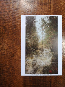 Duchesnay Falls Postcard (old style, new image)