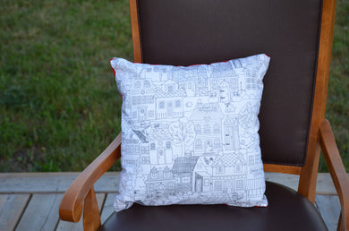Kids colouring pillow