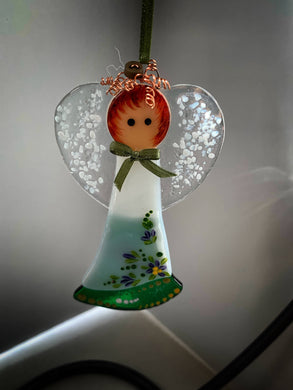 Fused glass Angel (May)