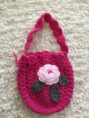 Crochet Decorative Kids Purse