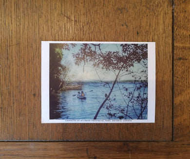 Killbear Kayaking Postcard (old style, new image)