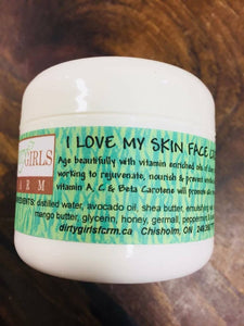 All Natural / Handcrafted / Artisanal / Creams & Lotions: 'I LOVE MY SKIN' FACE CREAM