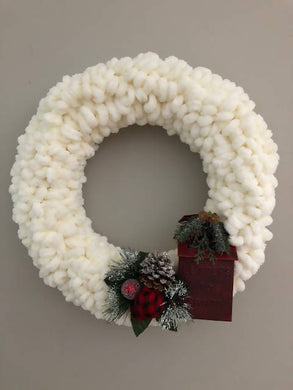 Wool Christmas Wreaths