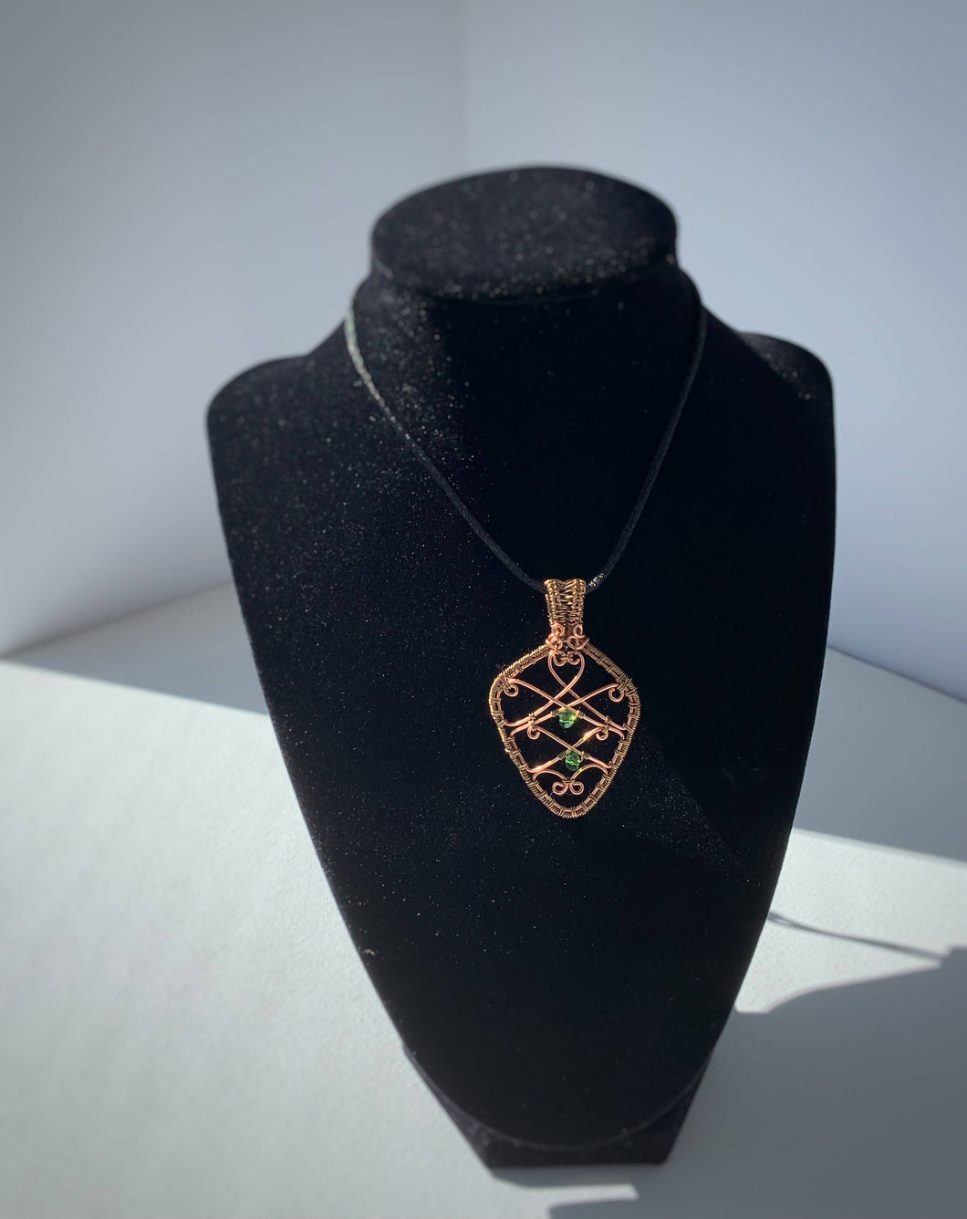Filligree Wire Wrapped Necklace