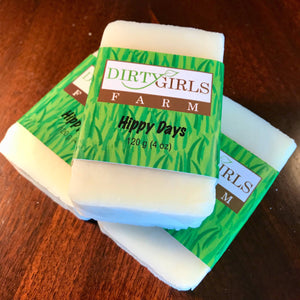 All Natural / Handcrafted / Artisanal / Cold Processed Soap: HIPPY DAYS