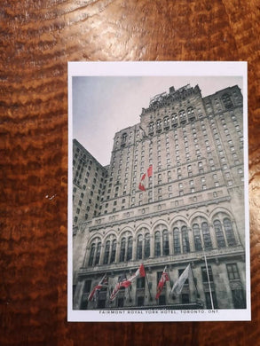 The Fairmont Royal York Postcard (old style, new image)