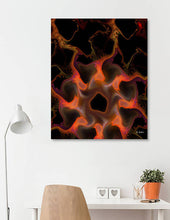 Spiders Flames part 2 abstract art print