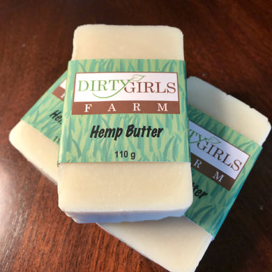 All Natural / Handcrafted / Artisan / Cold Processed Soap: HEMP BUTTER