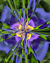 Pretty Abstract Flower