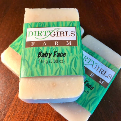 All Natural / Handcrafted /Artisanal / Cold Processed Soap: BABY FACE