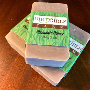 All Natural / Handcrafted / Artisanal / Cold Processed Soap: CHOCOLATE HONEY